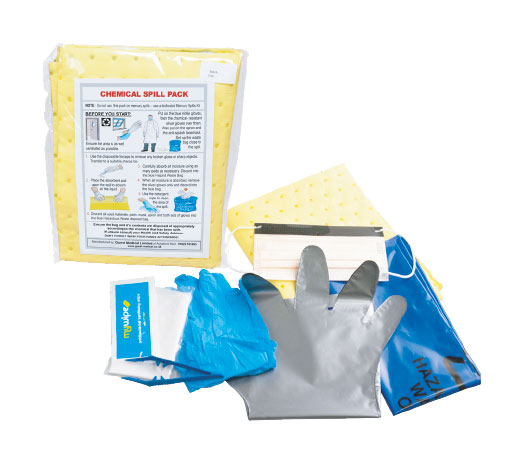 Chemical Spill pack PPE